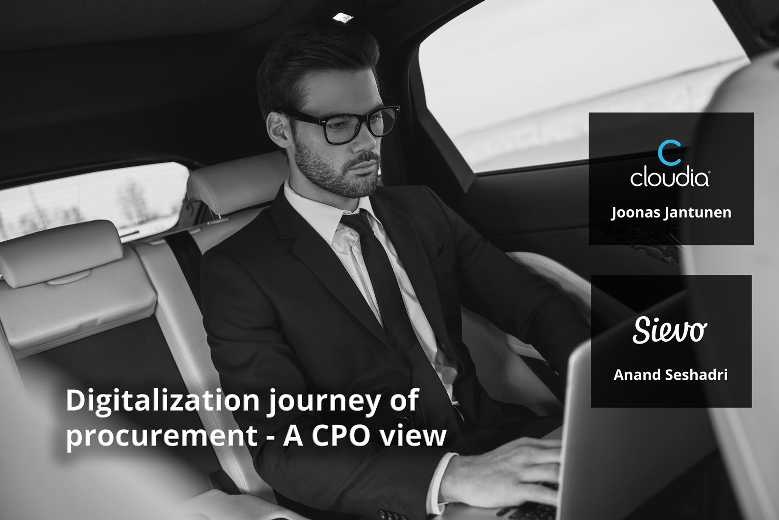 Journey of a CPO: successful procurement digitalisation secrets straight from the field